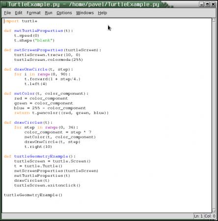 Obrázek 12: Okno seditorem zdrojového kódu. Vtomto okně je zobrazen kód jednoduché demonstrační aplikace, která nás bude provázet vnásledujících kapitolách i vnavazující části tohoto seriálu.