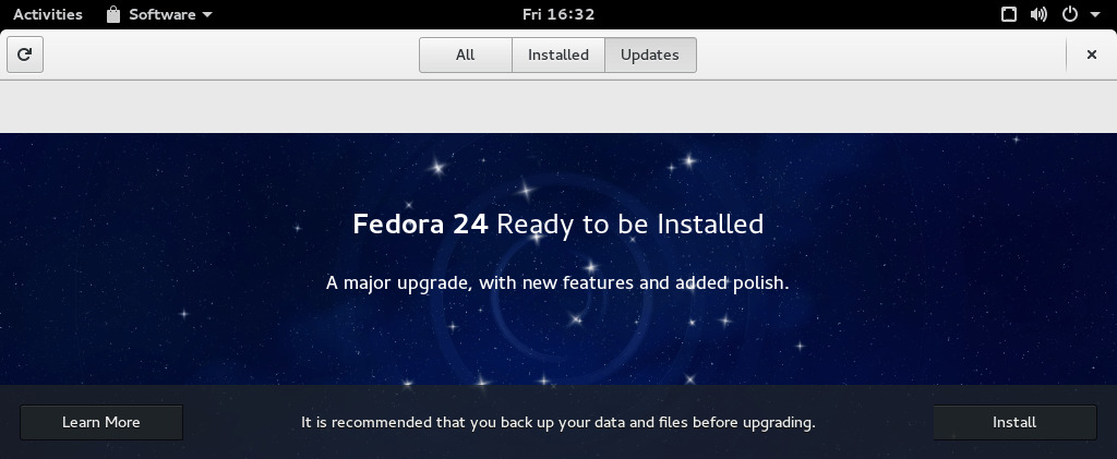 fedora-upgrade
