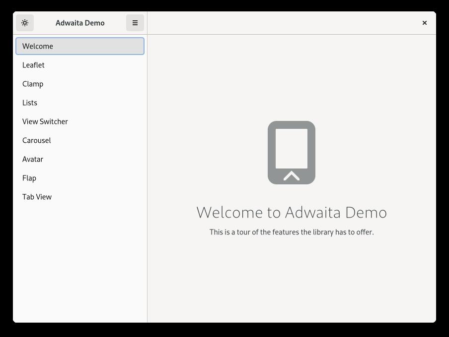 Úvodní okno aplikace